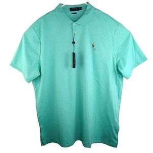 Polo Ralph Lauren Mint Green Soft Polo Shirt XXL